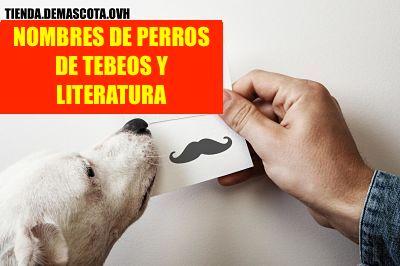NOMBRES DE PERROS DE TEBEOS Y LITERATURA