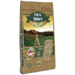 Farm Nature Pienso seco para Perros. FN Buey con Verduras - Todas Las Razas - 12,5 kg