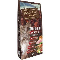 Natural Greatness Pienso Seco para Perros Receta Natural Woodland Country Diet. Super Premium. Todas Las Razas y Edades. Sin Gluten 12 Kg