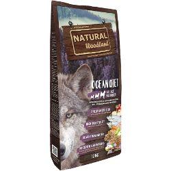Natural Greatness Pienso Seco para Perros Receta Natural Woodland Ocean Diet. Super Premium. Todas Las Razas y Edades. Sin Gluten 12 Kg-pienso-para-perros